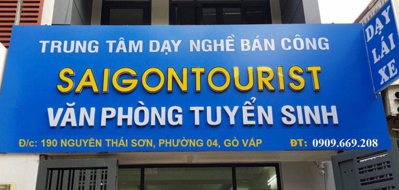 Trung tâm đào tạo lái xe Sài Gòn Touris