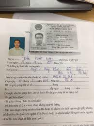 Hồ sơ thi bằng lái xe ở quận Gò Vấp